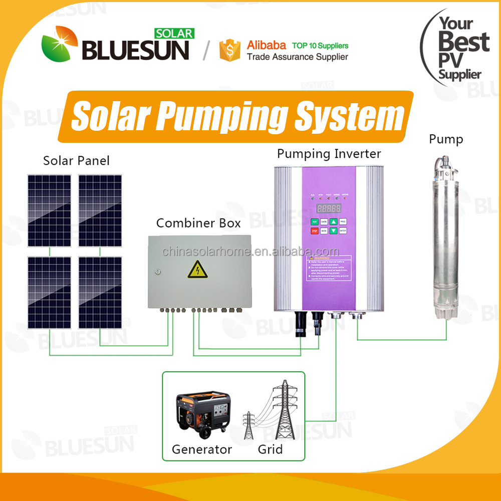 Hot sale well solar pump hot water removable element water cubic meter flow