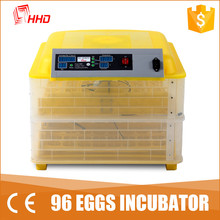 2016 Howard family style small full automatic digital egg turning AC&DC poultry egg incubator