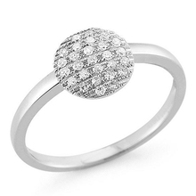 Pave diamond ring trendy rings design fancy jewelry