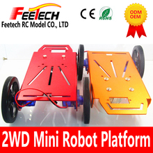 Feetech 2wd robot smart car chassis kits for kid education