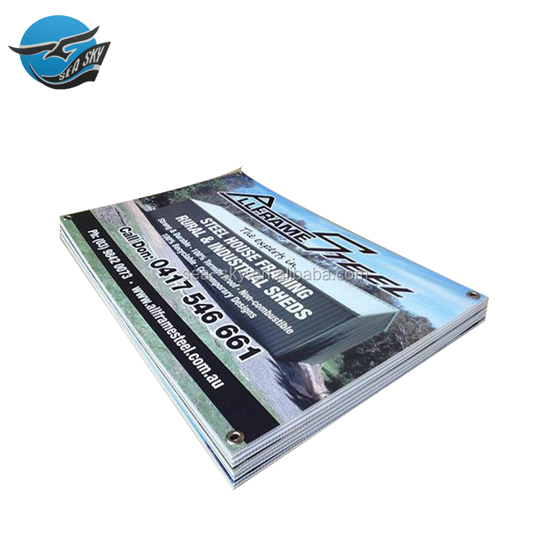 Digital printing recyclable durable customized pp plastic impraboard coroplast flute corpac laminate post advertising board