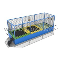 children high jump bed with basketball hoops BJ-GXTP070522