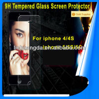 Amazing 0.26mm thick Anti- shatter Premium Tempered Glass Anti Glare Screen Protectors For iPhone 5C