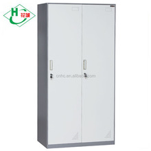 Metal 2 Door Office Cabinet Wardrobe Steel Almirah Designs