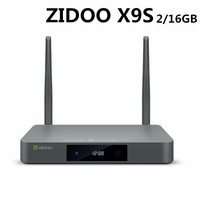 ZIDOO X9S Android TV BOX Android 6.0 + OpenWRT(NAS) Realtek RTD1295 2G/16G 802.11ac WIFI Bluetooth 1000M LAN Smart Media Player
