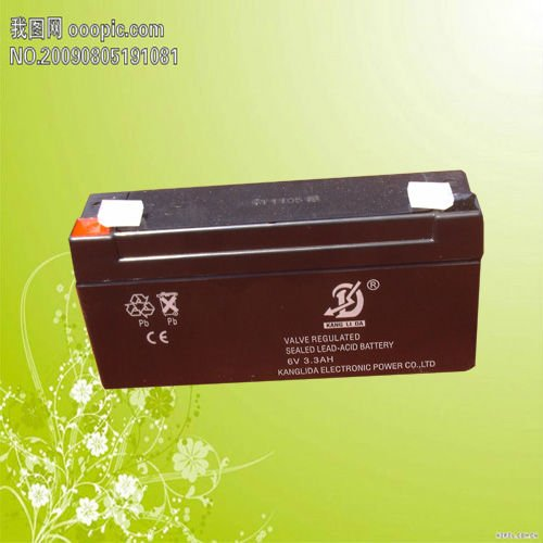 Lead acid storage battery for food vending machine