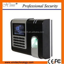 X628 Fingerprint time attendance with Webserver TCP/IP network biometric time attendance system