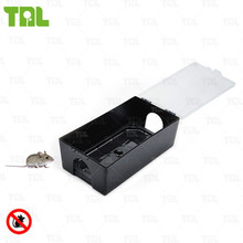 Secure Mouse Control Device Rat Glue Trap Box TLRBS0108
