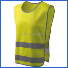 Stylish safety work vest yellow for women
