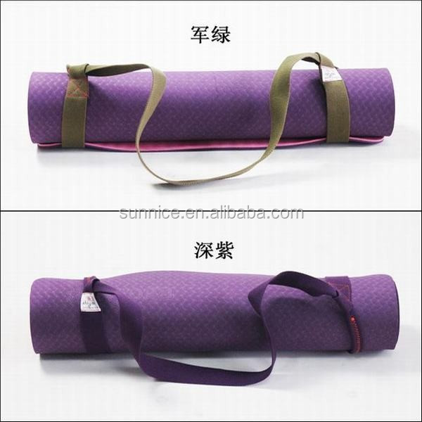 Unique style promotional polyester yoga mat strapping