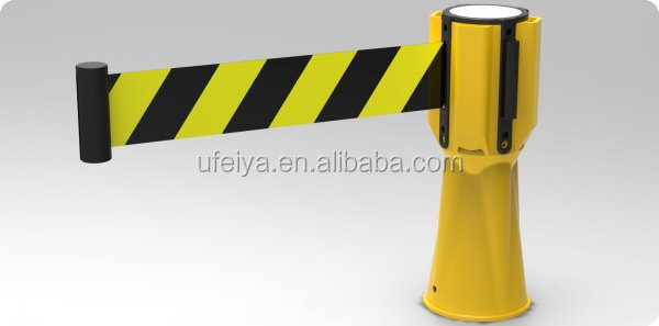 Retractable Cone Topper: Retractable Safety Belt CONE TOPPER, View Traffic Cone