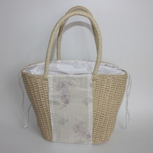 Paper Straw Hand-woven Tote Bag