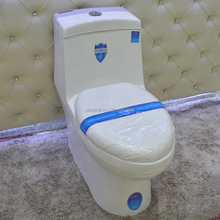 A2040 One piece porcelain bathroom toilet