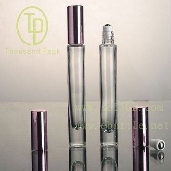 10ml Glass Roll On Bottle,thick bottom,Square and Round shape,High quality
