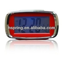 Elderly digital transparent lcd alarm clock