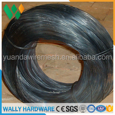 Factory low cheap price BWG16 / 18GAUGE AT 20KG 25KG 45KG Soft Black annealed Tie Wire/ binding tying wire