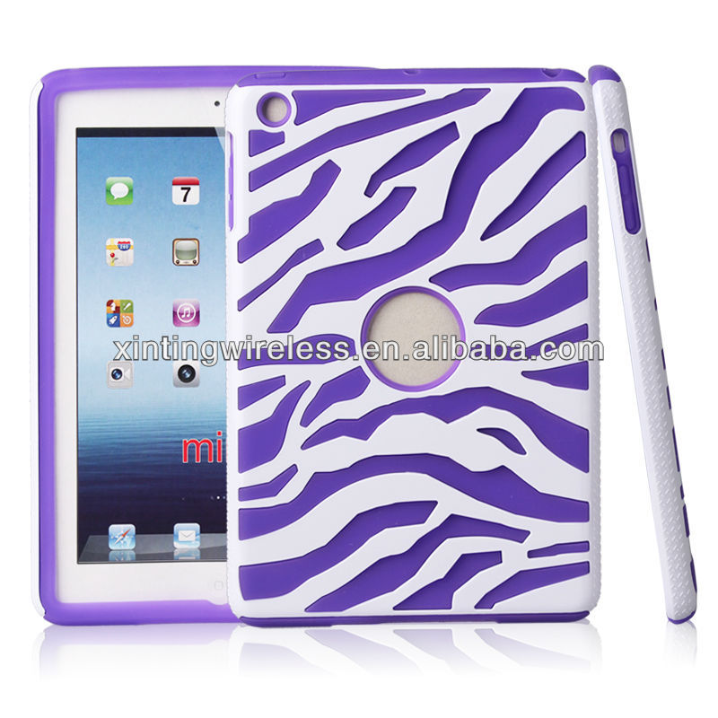 zebra-stripe design for ipad mini case