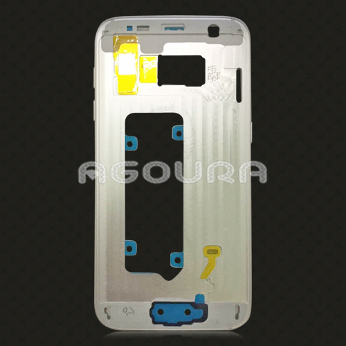 For Samsung Galaxy S7 Edge Back Battery Cover Housing, Middle Bezel Frame Housing