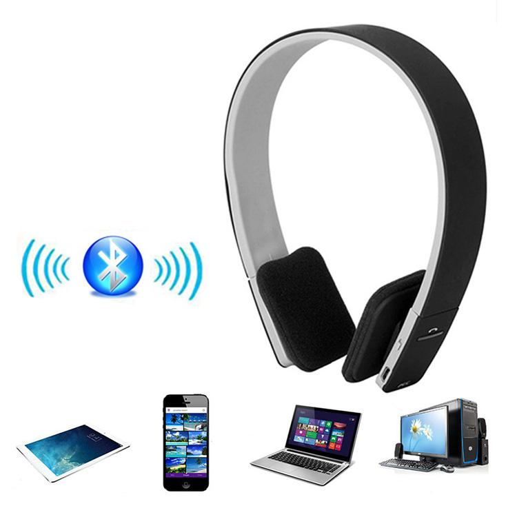 BQ618 BQ-618 AEC Bluetooth Headphone Noise Reduction Wireless Headset Headsets For Phone Laptop Tablet Stereo Headphones