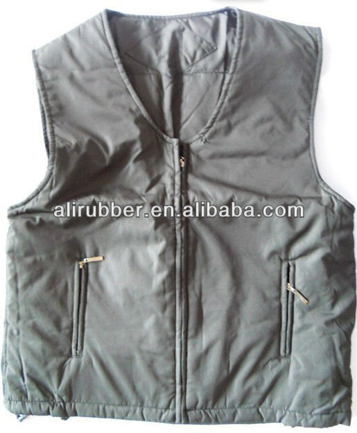 Flexible Winter Heated Jacket/vest With Rechargeable Battery