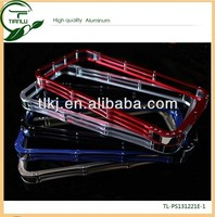Aluminum Alloy Blade Metal Frame Bumper Case for Samsung Galaxy S4 i9500 various colors top grader cover