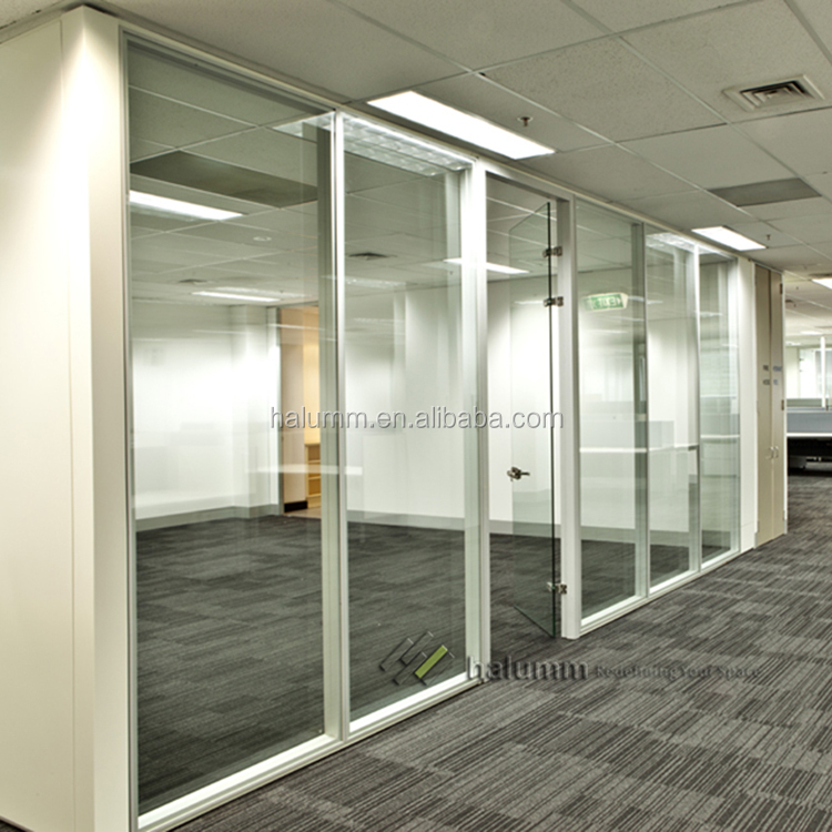 demountable glass office partition,transparent glass partition withdemountable glass office partition, transparent glass partition with pvc profile ,frameless glass types of wall partition
