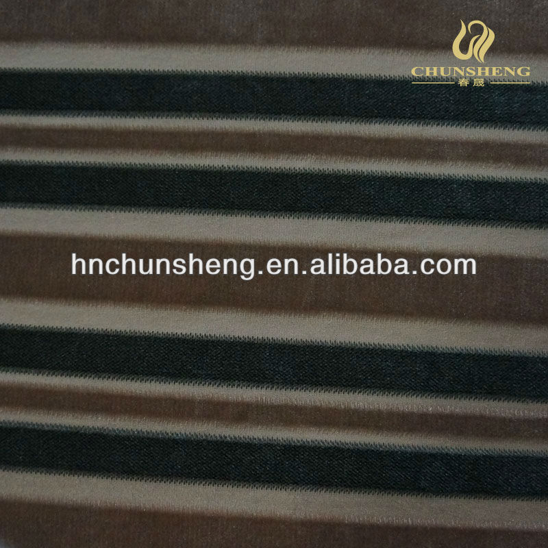 100% Polyester Printed Velboa Plush Fabric with strip used for garment,textile