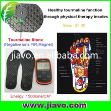 2017 newest model tourmaline shoe-pad with healthy effect with healthy effect