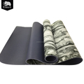 Eco-friendly durable extra long custom yoga rug mats for gymnastics travel fitness