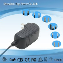 Power adapter 15v 1a ac dc switching mode power supply