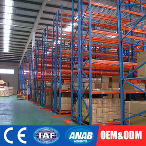 heavy loading pallet rack storage systems