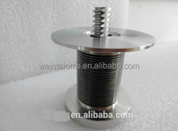 Hot sale quick open brass valve core