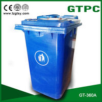 Large Durable Plastic Dustbins/ garbage bins