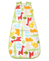 Hot Sales 100% Organic Cotton Sleeping Bag Printed Sack