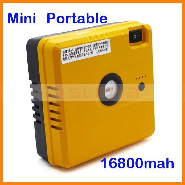 16800mah Multifuction Emergency Auto Engine Start Supply with Air Pump for 12V Car Rechargeable Portable Jump Starter