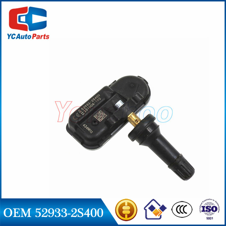 52933-2S400 529332S400 Original 433MHz Tire Tyre TPMS Sensor for Hyundai IX350 Low 2013 2014 2015