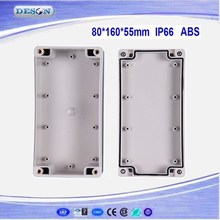 80*160*55mm Electrical ABS/PC IP66 Waterproof Control Box , Waterproof Box Series DS-AG-0816