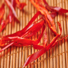 Chinese red chilli pepprt thread for snack food processing