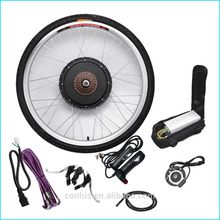1000w electric front wheel hub motor/disc brake bicycle conversion kit