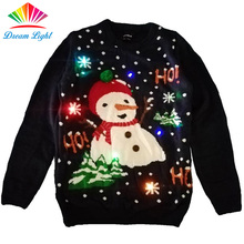 Pullover Light up Led Christmas Sweater for Party