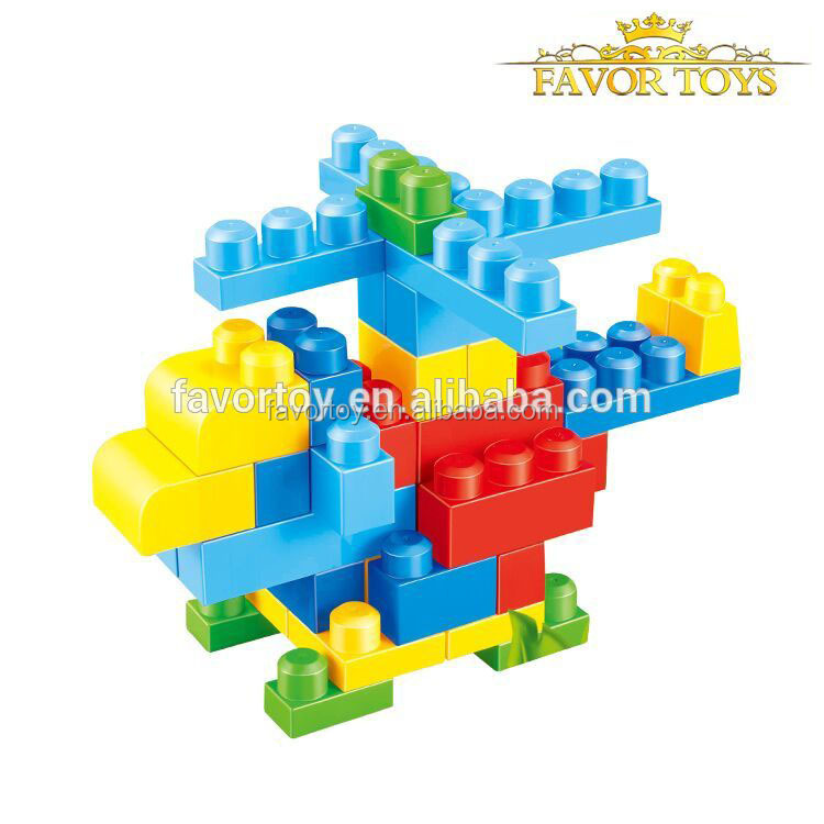 Mega classic plastic building blocks toys for kids