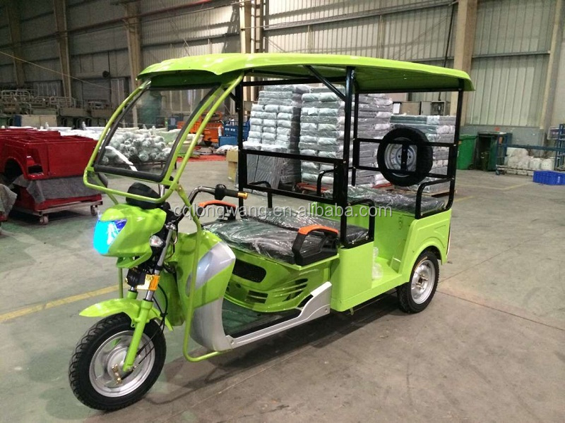 Electric motorized three wheeler/open type electric bajaj/3 wheel motor bike electric
