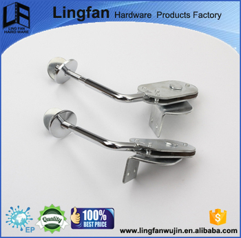 LF-8031 90 degree locking metal gear hinge adjustable hinge for sofa
