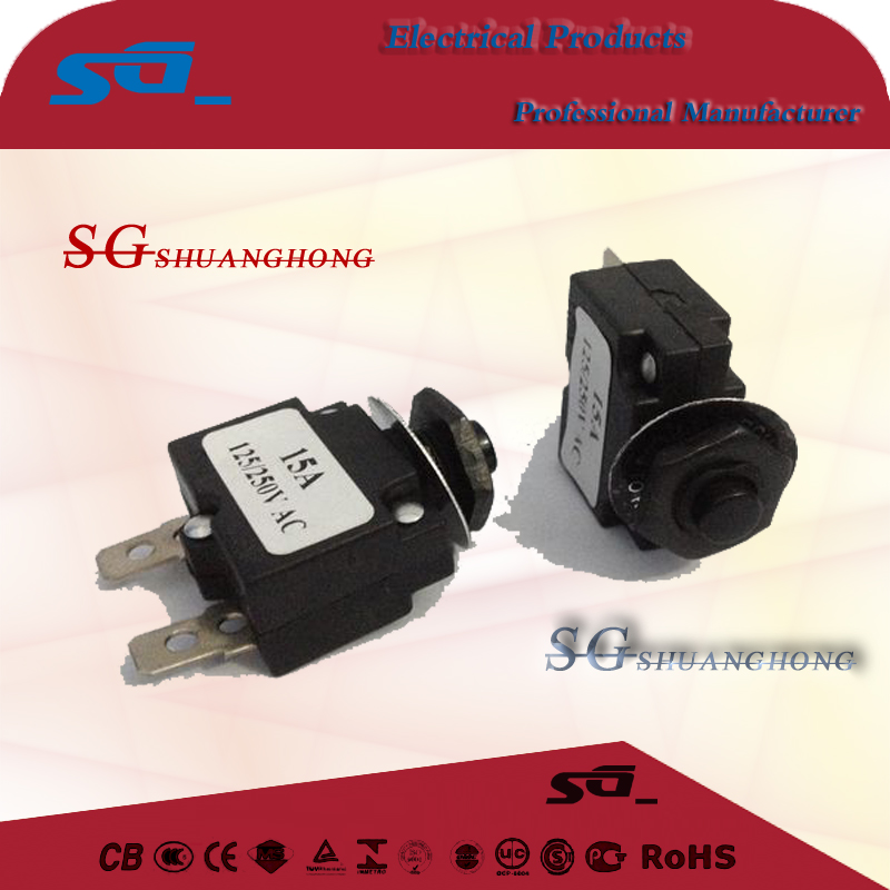 W-112B Ht-01 - A overload current protector switch MR1 reset insurance wp-01