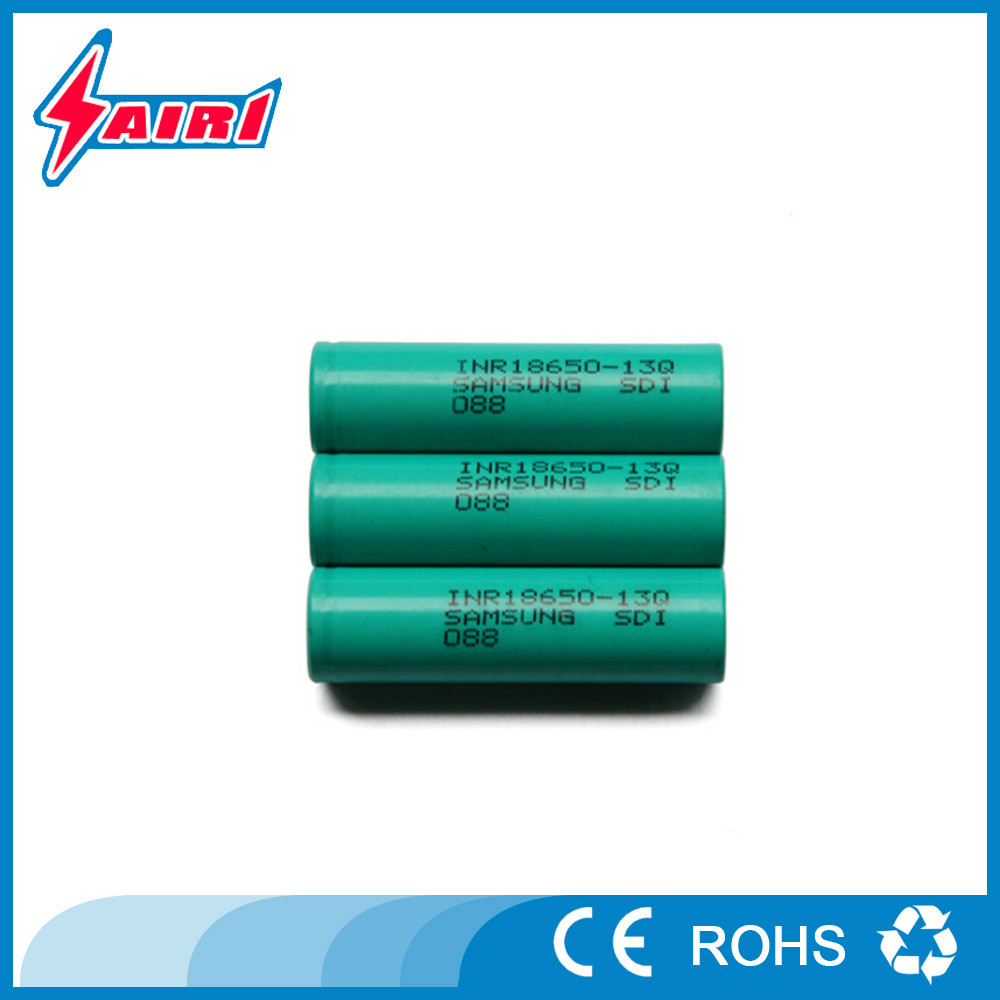 Rechargeable Samsung INR18650 13Q 1300mah li-ion battery