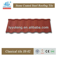 ISO SONCAP BV exporter factory of classical stone coated metal roofing tile