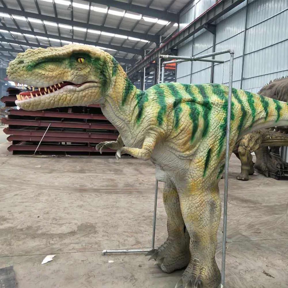 Life size realistic walking dinosaur costume <strong>video</strong> for sale