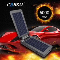 New Arrival Carku Epower-14 6000mAh motorcycle automobile Portable solar charging power bank 12V car Jump starter