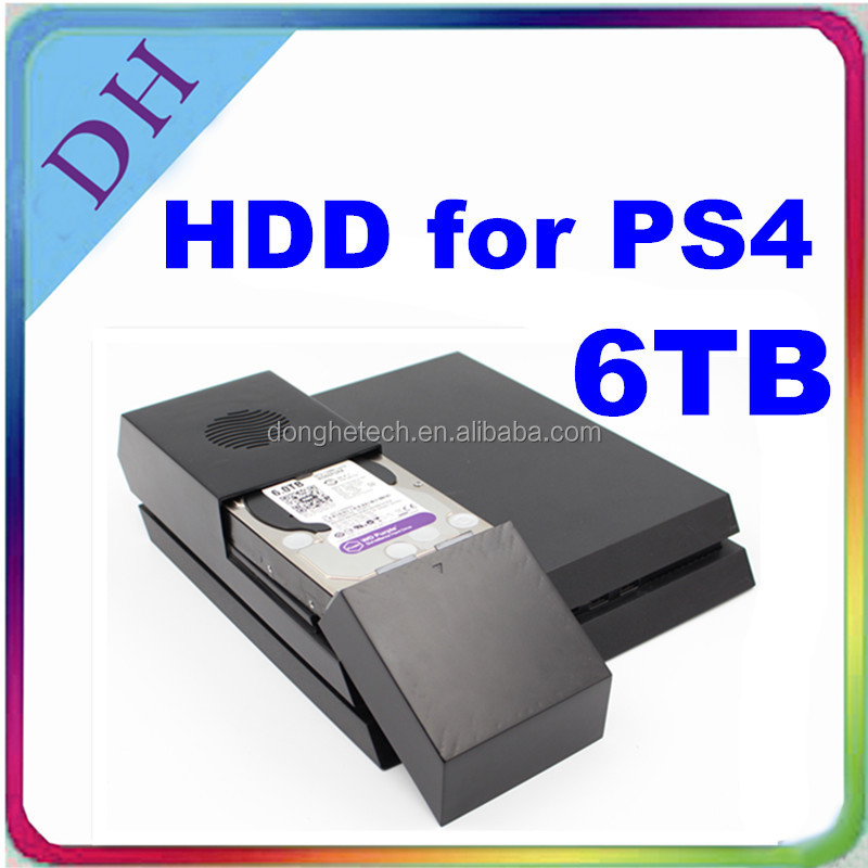 update for PS4 hdd 6tb with case/ 5400rpm 3.5'' hard drive for PS4 games accessories