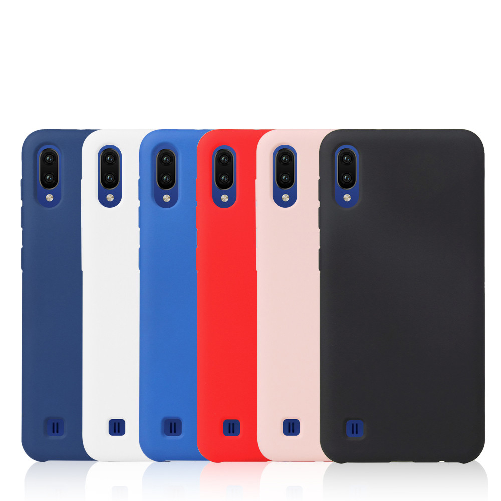 Soft Touch Feel TPU Silicone Cover For Samsung Galaxy <strong>A10</strong>